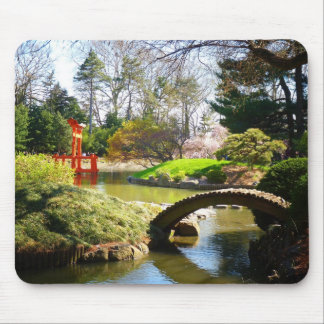The Japanese Hill and Pond Garden Mouse Pad