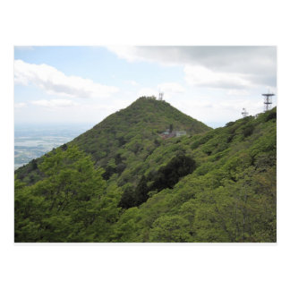 The Japanese mountain Tsukuba mountain Postcard