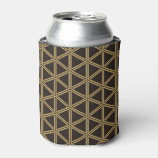 The Japanese traditional pattern group tortoise Can Cooler