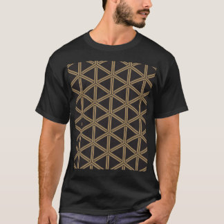 The Japanese traditional pattern group tortoise T-Shirt