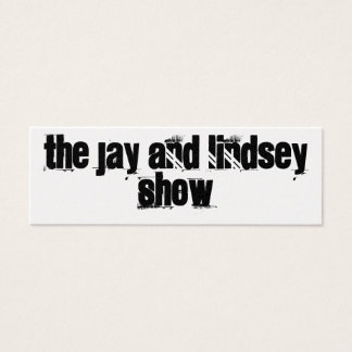 The Jay And Lindsey Show Promo Card