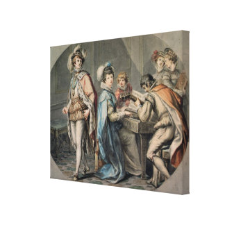 The Jealousy of Darnley Canvas Print