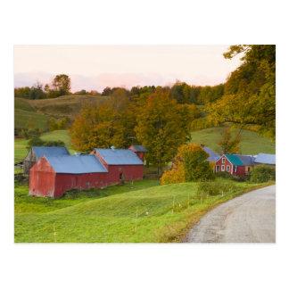 The Jenne Farm in Woodstock, Vermont. Fall. Postcard