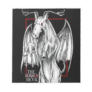 The Jersey Devil Notepad