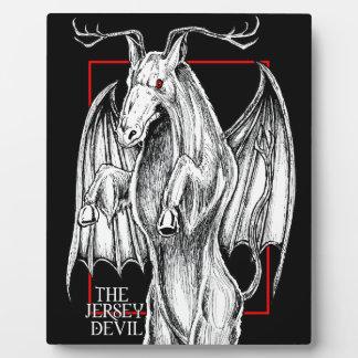 The Jersey Devil Plaque