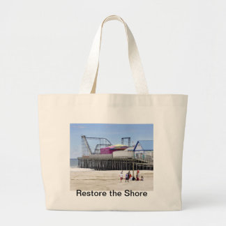 The Jersey Shore at Seaside Heights Tote Bag