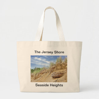 The Jersey Shore at Seaside Heights Tote Bags