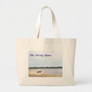 The Jersey Shore at Seaside Heights Jumbo Tote Bag