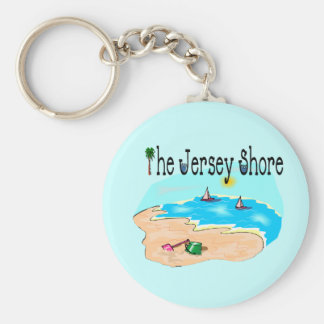 The Jersey Shore Key Ring