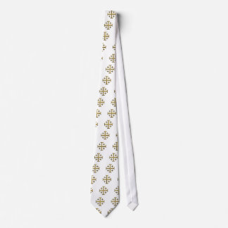 The Jerusalem Cross - Gold Beveled Edition Tie