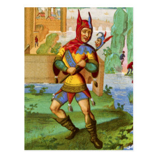 The Jester Post Card