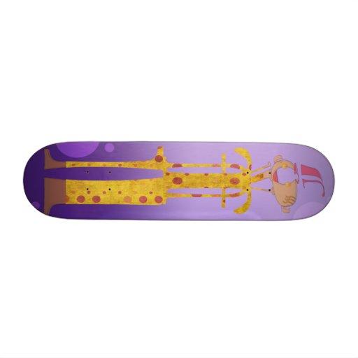 The Jester (Purple) Custom Skateboard