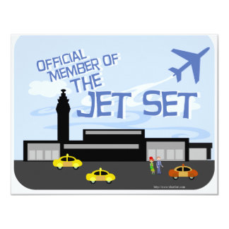 The Jet Set! Personalized Announcement