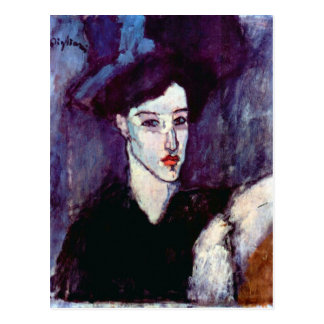 The Jewess by Amedeo Modigliani Postcard