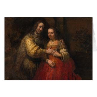 The Jewish Bride by Rembrandt van Rijn Card