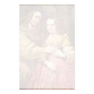 The Jewish Bride (The Couple) By Rembrandt Van Rij Stationery