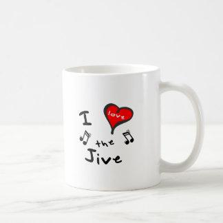 the Jive Gifts - I Heart the Jive Coffee Mugs