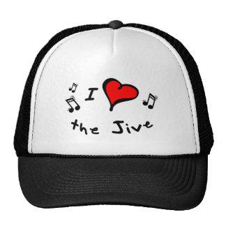 the Jive I Heart-Love Gift Trucker Hat