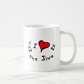 the Jive I Heart-Love Gift Mug
