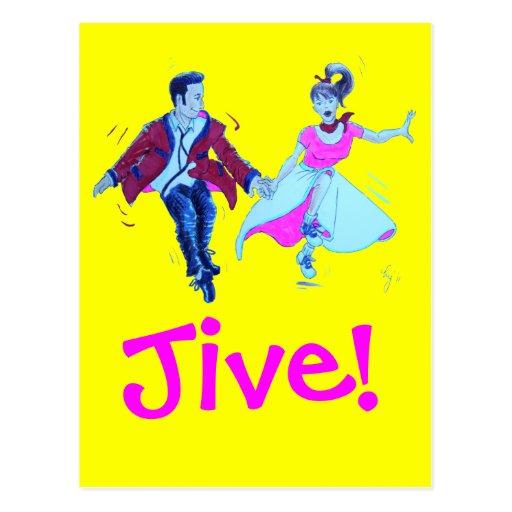 The Jivers! Postcards