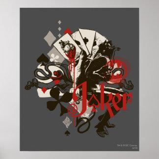 The Joker - 4 Aces Bleeding Heart Devil Print