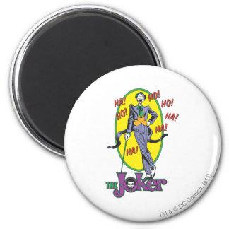 The Joker Cackles 2 6 Cm Round Magnet