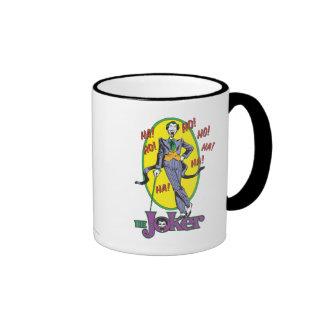 The Joker Cackles 2 Ringer Mug