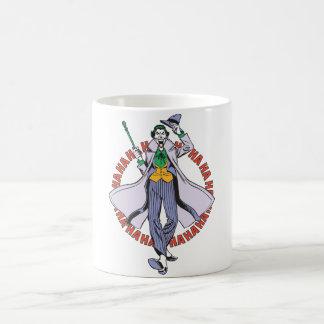 The Joker Cackles Basic White Mug