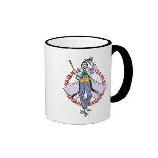 The Joker Cackles Ringer Mug