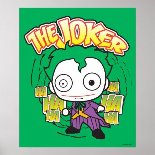 The Joker - Chibi Poster