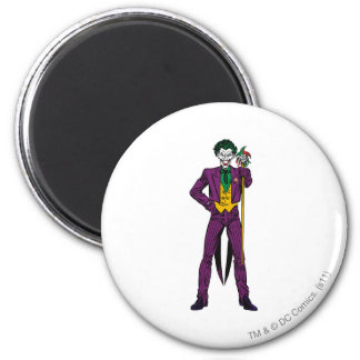 The Joker Classic Stance 6 Cm Round Magnet