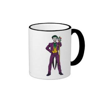 The Joker Classic Stance Ringer Mug