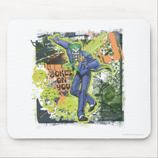 The Joker Collage Mouse Pad