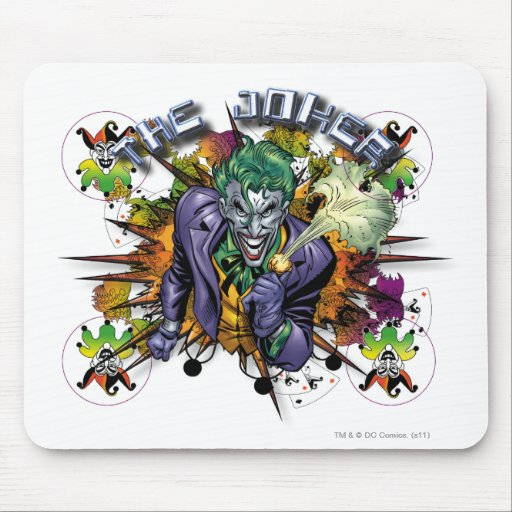The Joker - Explosion Mouse Pads