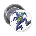 The Joker Jumps 6 Cm Round Badge