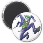 The Joker Jumps 6 Cm Round Magnet