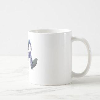 The Joker Jumps Basic White Mug