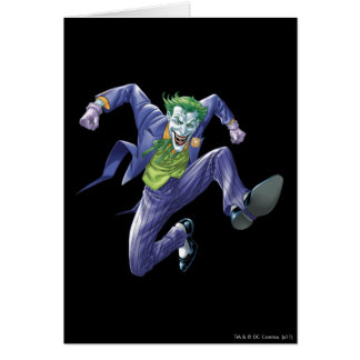 The Joker Jumps Greeting Card