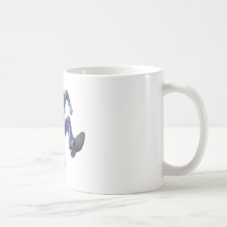 The Joker Jumps Classic White Coffee Mug