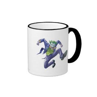 The Joker Jumps Ringer Mug