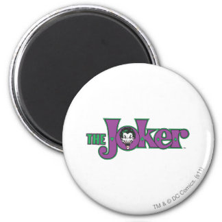 The Joker Logo 6 Cm Round Magnet