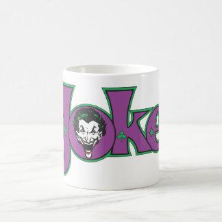 The Joker Logo Basic White Mug
