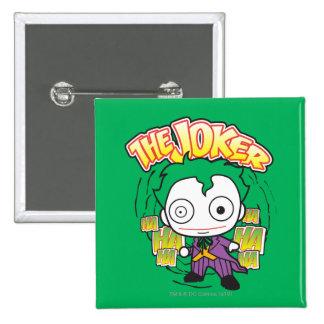 The Joker - Mini 15 Cm Square Badge