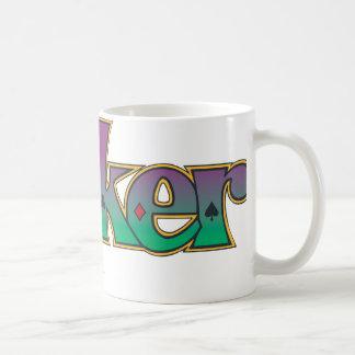 The Joker Name Logo Basic White Mug