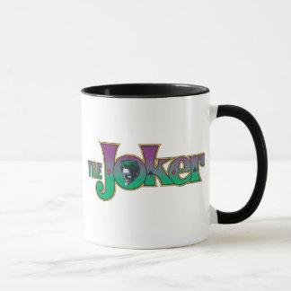 The Joker Name Logo Mug
