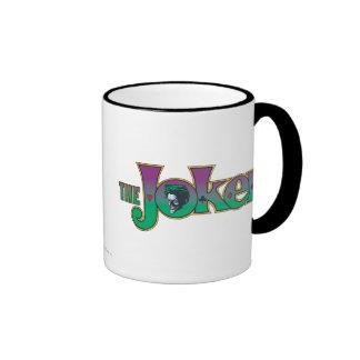 The Joker Name Logo Ringer Mug
