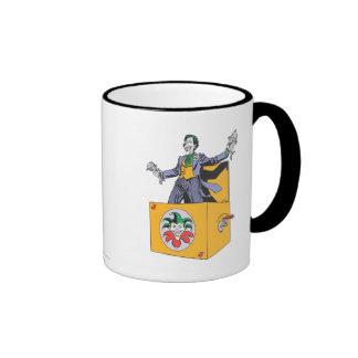 The Joker Out of the Box Ringer Mug