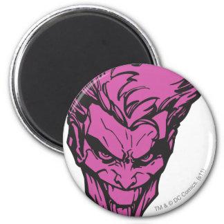 The Joker Pink Fridge Magnets