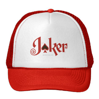 The Joker Playing Card Logo Cap