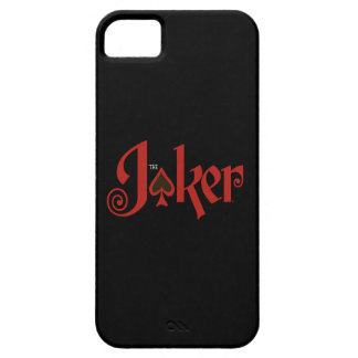 The Joker Playing Card Logo Case For The iPhone 5